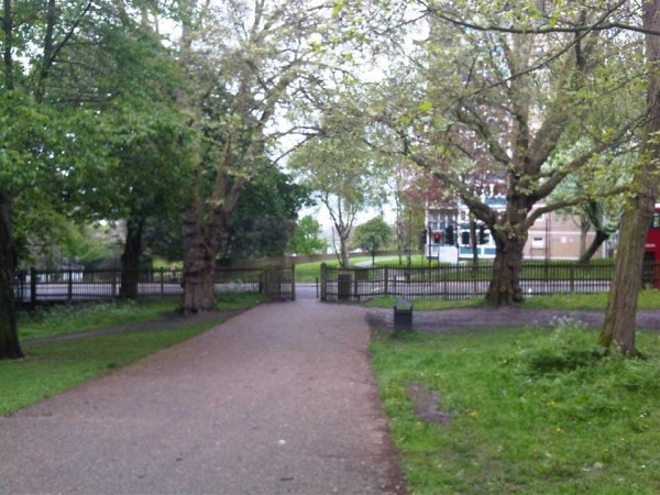 Tree assessment along the proposed route of a cable tunnelling activity, beneath Finsbury Park, Haringey