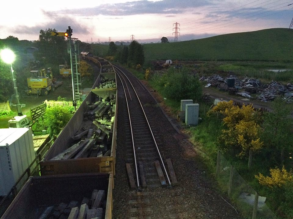 Ecology Link Rail projects start of track renewal