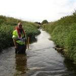 River Welland deflector depths